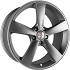 AVUS Racing AF10 - Anthracite polished 8,00x18 5x112,00 ET45,00