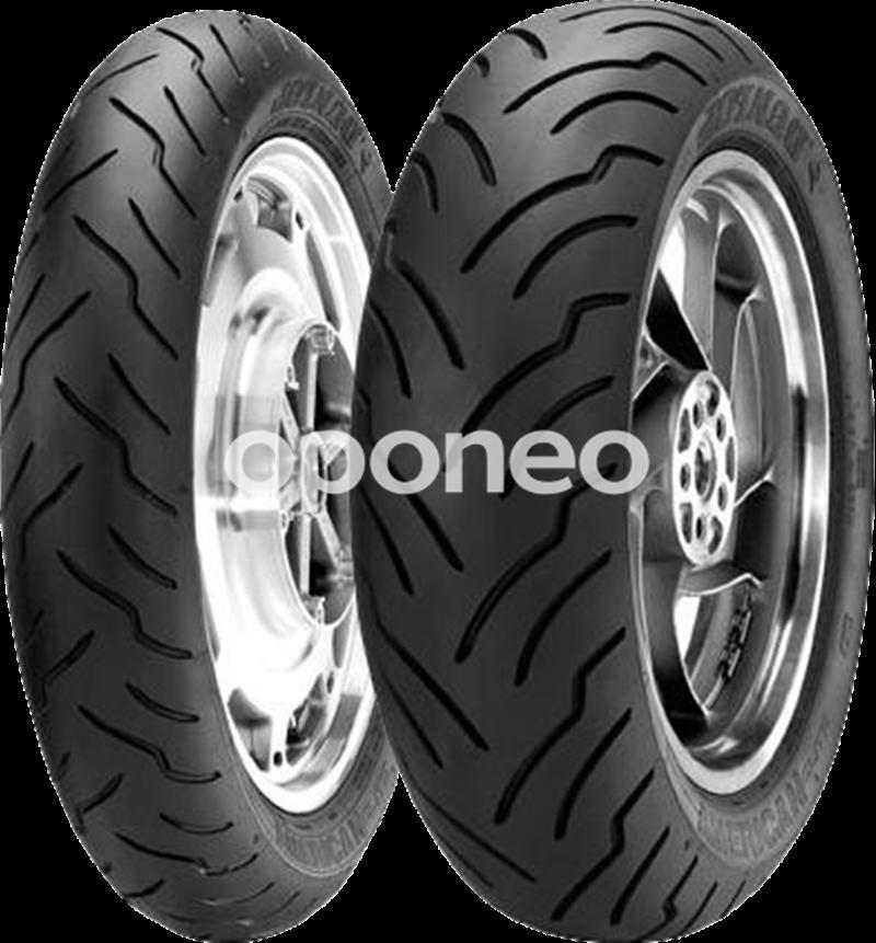 Dunlop American Elite Flanc Blanc pneu