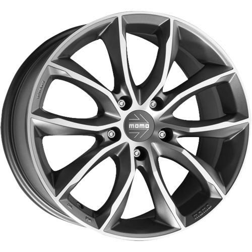 MOMO Screamjet Evo Anthracite Polished 7,00x16 5x100,00 ET42,00