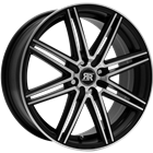 Racer CROSS Black Polished 6,50x15 4x100,00 ET35,00