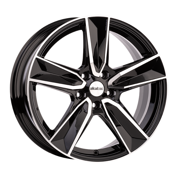 Alkatec RX15 Black Polished 7,00x17 5x108,00 ET45,00